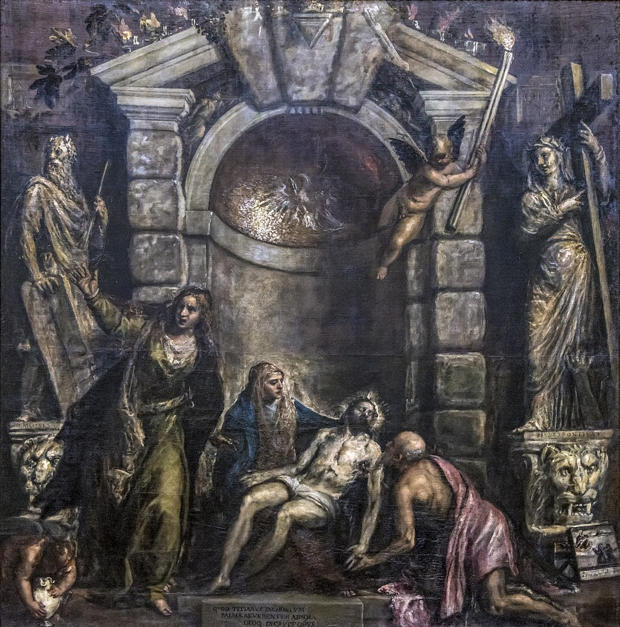 Titian, Pieta (1576)