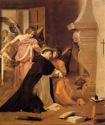 Diego Velázquez, Temptation of St. Thomas