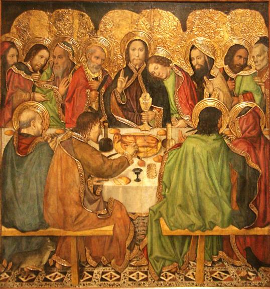 Jaume Huguet, Last Supper