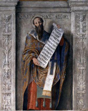 Domenichino, Saint Basil