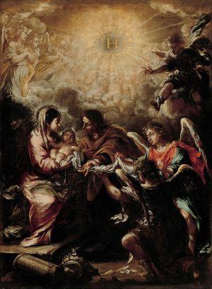 Juan de Valdés Leal, The Conferring of the Name of Jesus