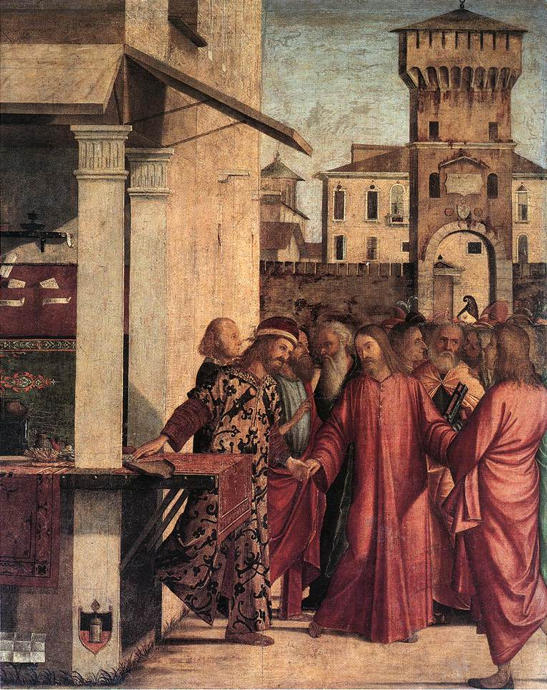Vittore Carpaccio, The Calling of St. Matthew