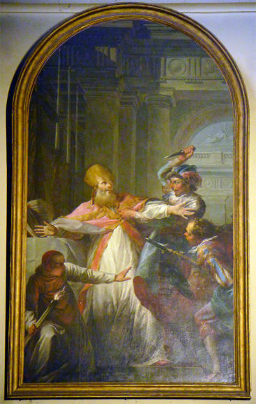 Jean-Baptiste Marie Pierre, The Martyrdom of Saint Thomas Becket