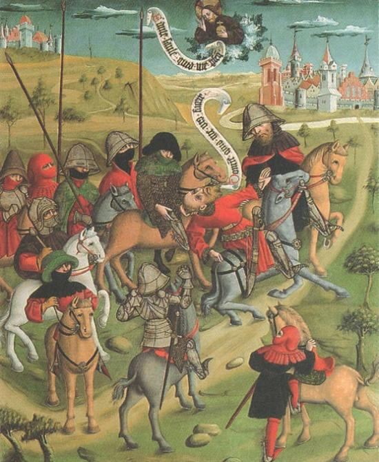 Master of Choirs, The Conversion of St. Paul