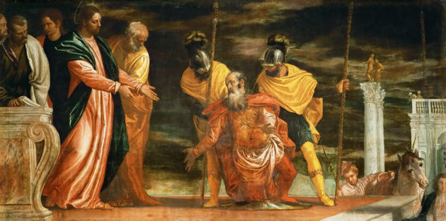 Paolo Veronese, Jesus Healing the Servant of a Centurion, c. 1585