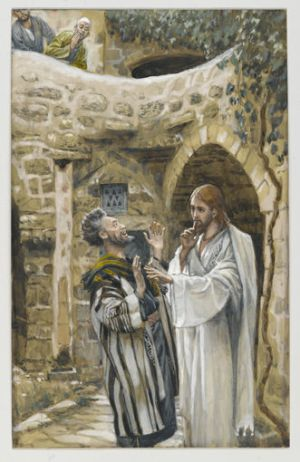 James Tissot, Jesus Heals a Mute Possessed Man