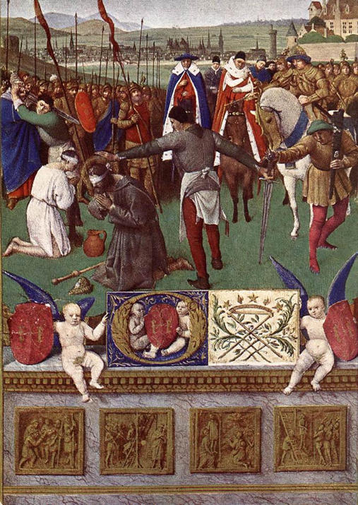 Jean Fouquet, The Martyrdom of St. James the Great