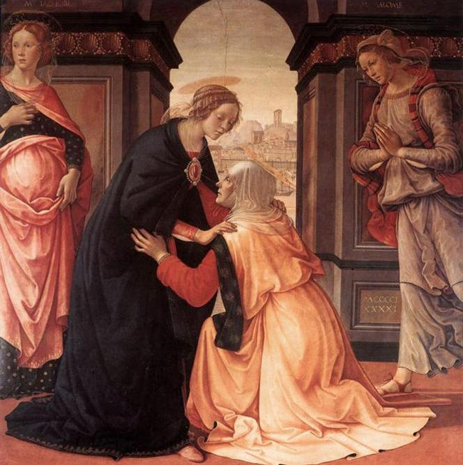 Domenico Ghirlandaio, Visitation, 1491