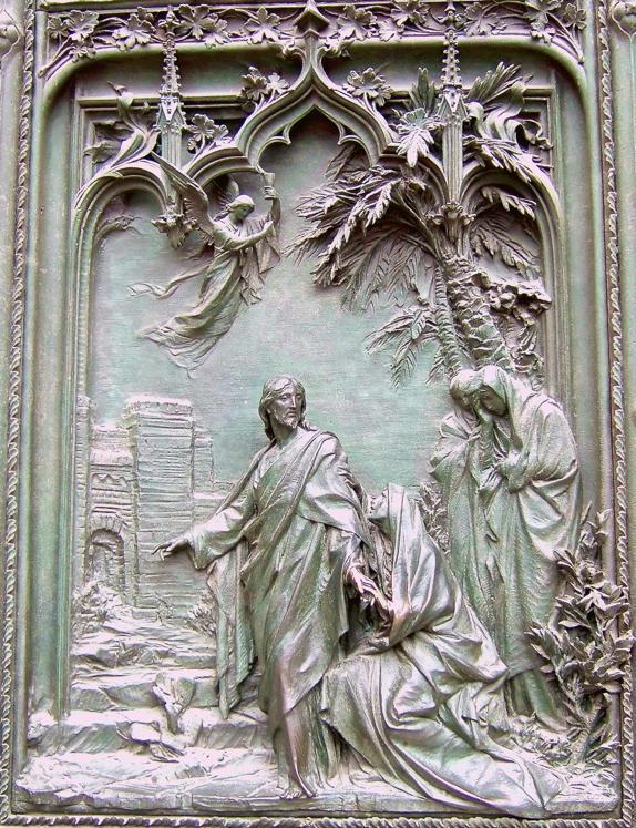 Lodovico Pogliaghi, Jesus Appears to Mary Magdalene
