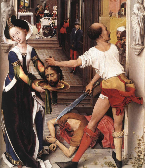 Rogier van der Weyden, Beheading of St. John the Baptist