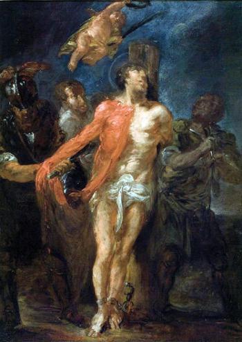 Michael Willmann, Flaying of Saint Bartholomew
