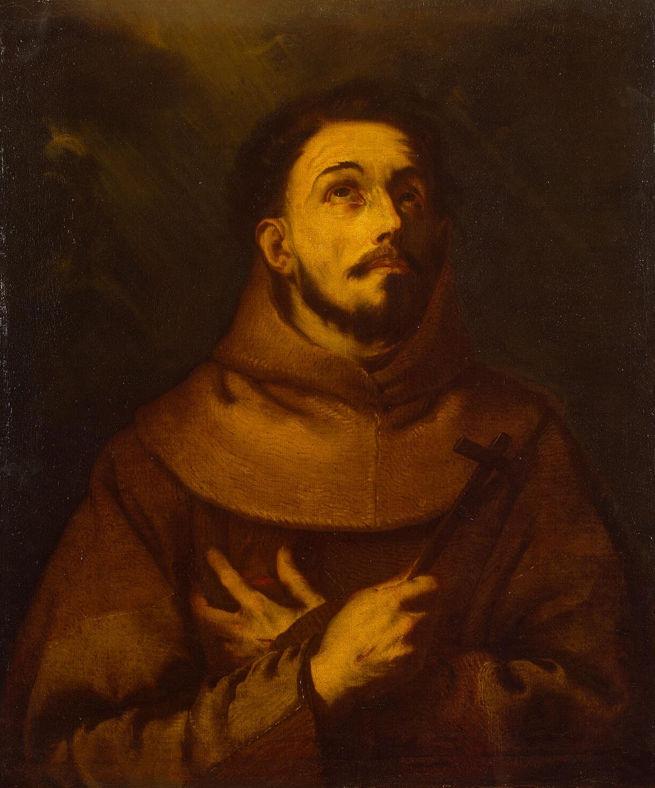 Luca Giordano, Saint Francis