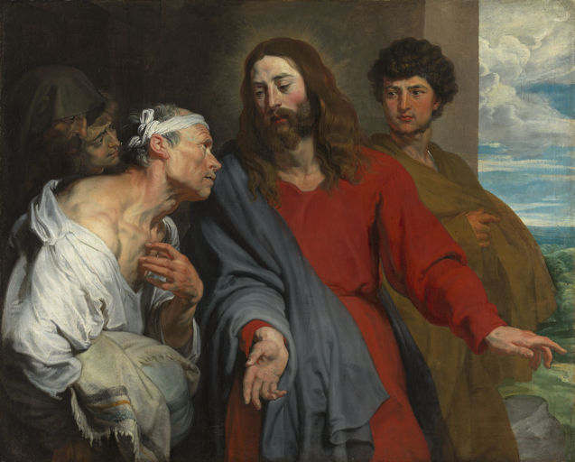 Anthony Van Dyck, Christ Healing the Paralytic
