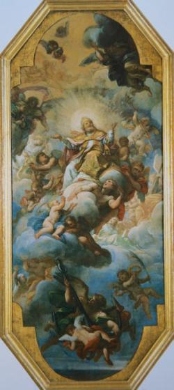Giuseppe Chiari, Glory of St Clement