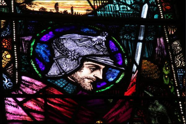 Harry Clarke, St. Martin of Tours