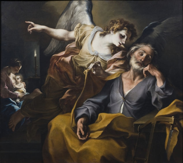 Legnanino, The Dream of St. Joseph