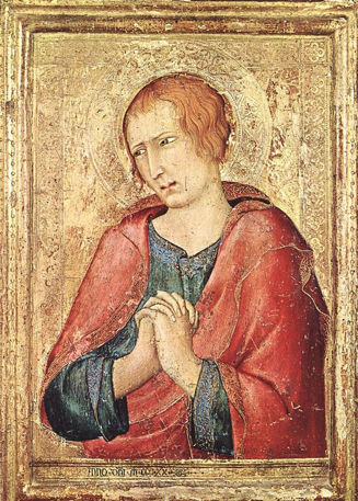 Simone Martini, St. John the Evangelist