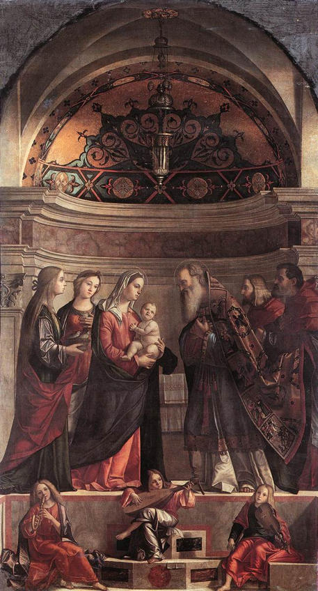 Vittore Carpaccio, Presentation of Jesus in the Temple