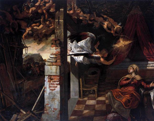 Tintoretto, The Annunciation