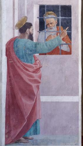 Filippino Lippi, St. Paul Visits St. Peter in Prison