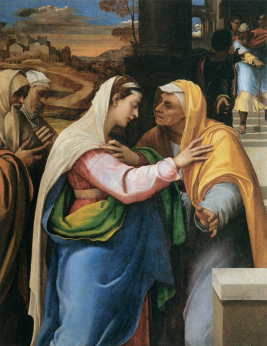 Sebastiano del Piombo, The Visitation