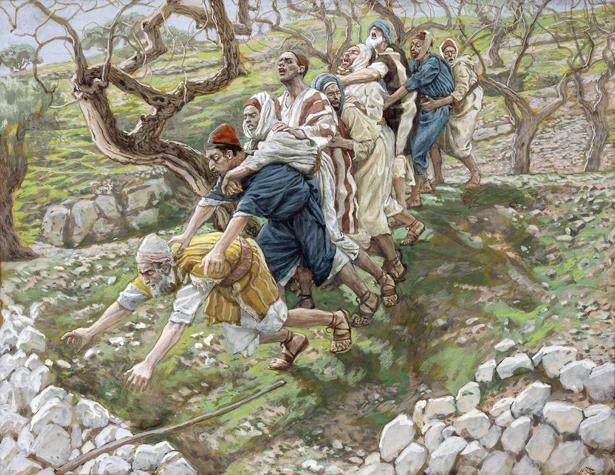 James Tissot, The Blind Leading the Blind