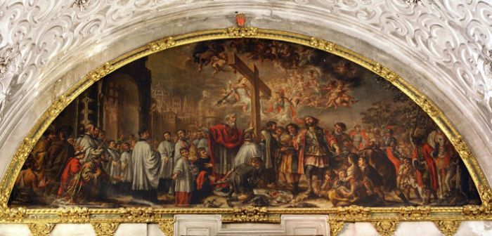 Juan de Valdés Leal, The Exaltation of the Holy Cross, 1685