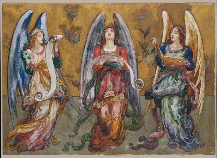 John La Farge, Angels Representing Thanksgiving