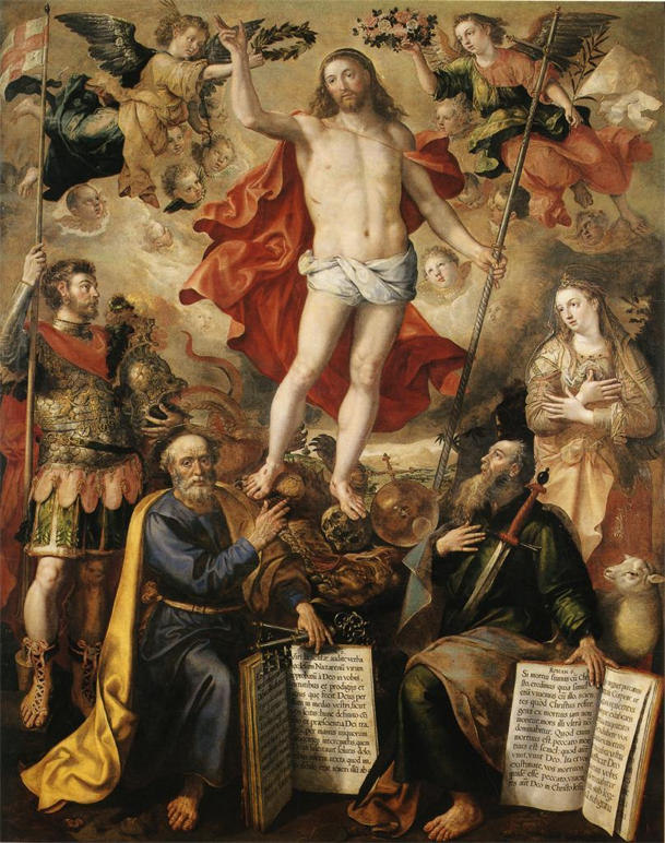Marten de Vos, Christ Triumphant over Death and Sin