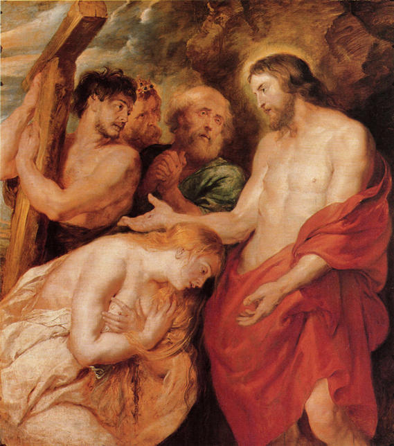 Peter Paul Rubens, Christ and the Penitent Sinners