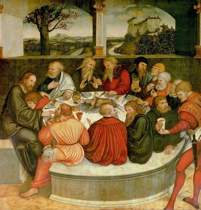 Lucas Cranach the Elder, The Last Supper