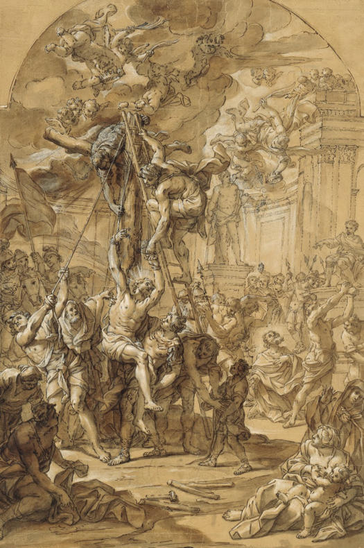 Giovanni Odazzi, Martyrdom of Apostles Philip and James the Less
