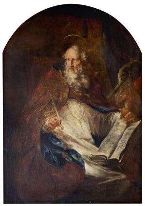 Michael Willmann, Saint Augustine of Hippo, c. 1690
