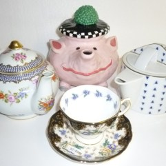 Tea Cups and Teapots