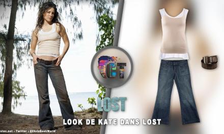 Look de Kate Austen dans Lost ( Jeans et débardeur )