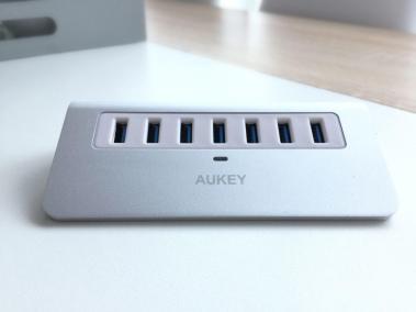 image article Test Aukey hub USB 2