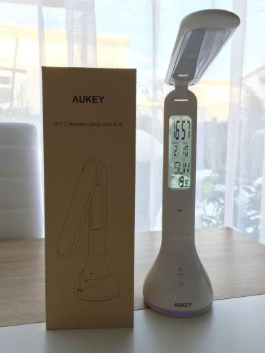 image article Test Lampe pliable Aukey 6