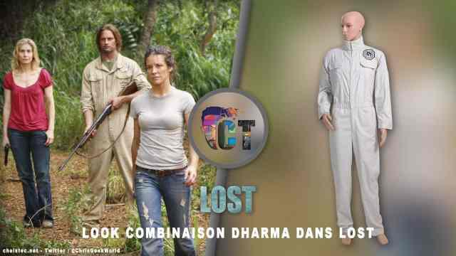 Look combinaison Dharma dans Lost