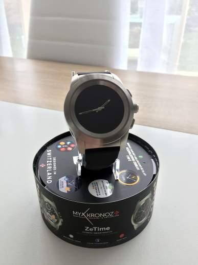 Image test de la zetime, la première montre connectée hybride 2