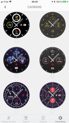 Image test de la zetime, la première montre connectée hybride 37