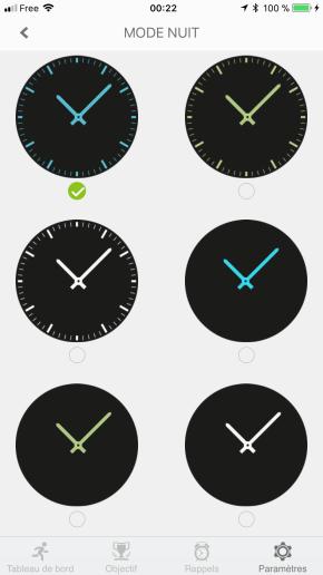 Image test de la zetime, la première montre connectée hybride 40