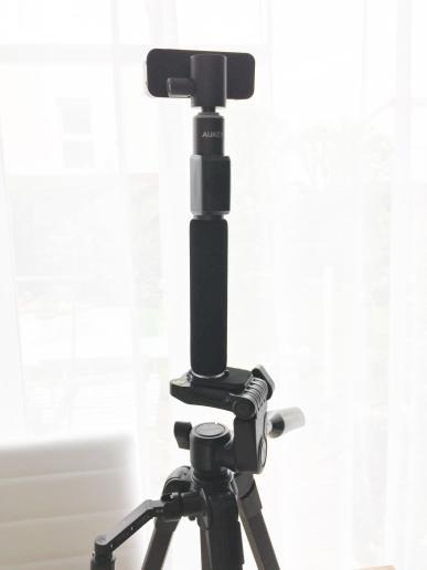 image Test de la perche à selfie Bluetooth avec trépied et télécommande d'Aukey 17