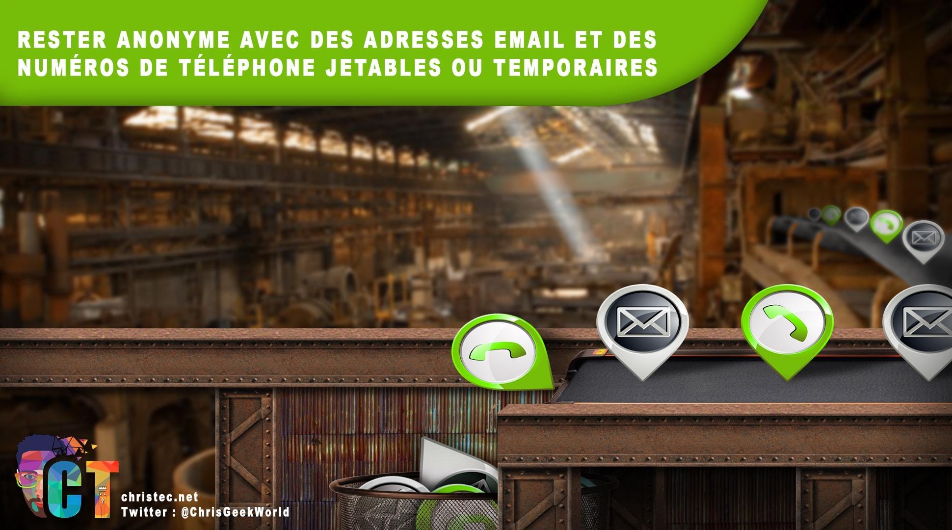a35a9e793 Rester anonyme avec des n° de tél et des e-mail jetables ou temporaires