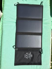 image test du chargeur solaire de 21 w aukey 2