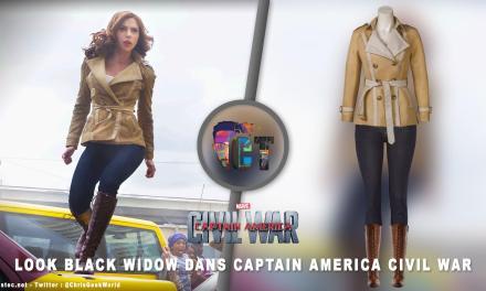 """Look de """"Black Widow"""" Natasha Romanoff Captain America Civil War ( jeans, Veste et bottes )"""