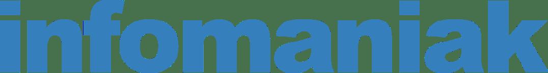 Logo infomaniak bleu