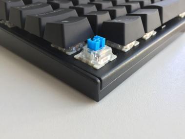 image test du clavier mécaniqueKM-G6 pour gamer Aukey rétroéclairé par LED 2