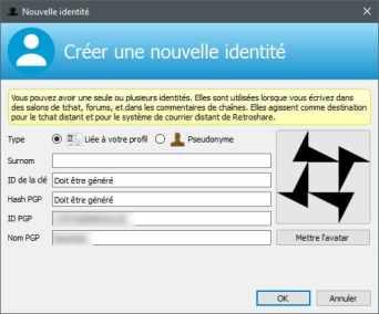 image chiffrer tous vos communication et échange de fichiers, tout en protégeant votre IP avec Retroshare 13