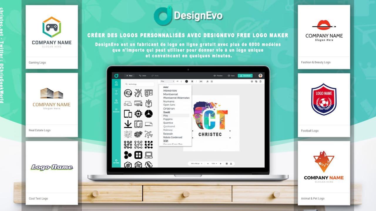 Créer facilement un logo pour votre marque ou votre entreprise avec Designevo