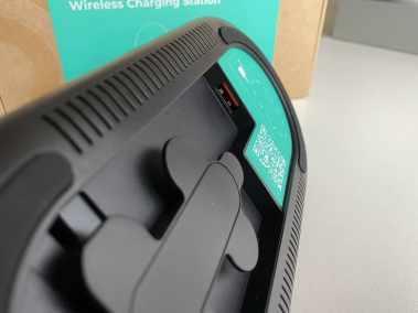 image Test de la station de charge sans fil 3 en 1 Aukey, Iphone, Watch, AirPods 9